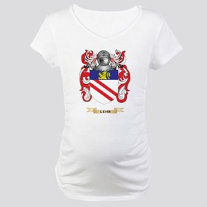 Lehr Coat of Arms - Family Crest Maternity T-Shirt
