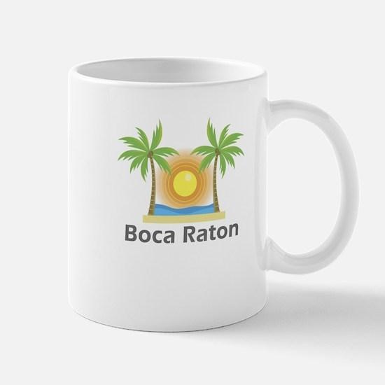 Boca Raton Large Mugs