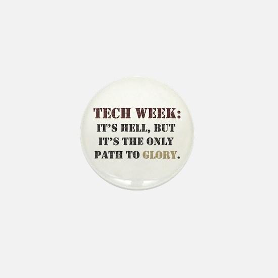 Tech Week Mini Button