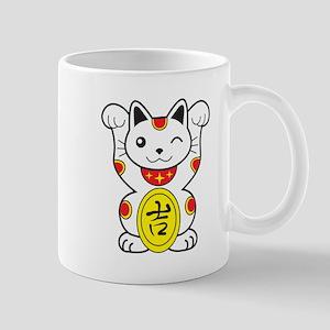 Maneki neko Lucky Cat Mug