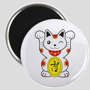 Maneki neko Lucky Cat Magnet