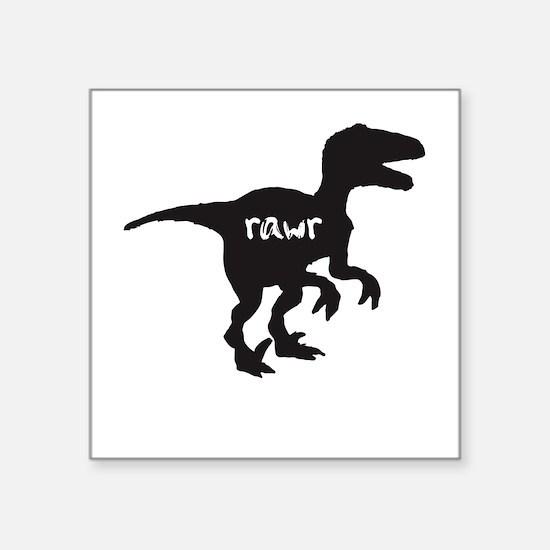 Dinosaur rawr velociraptor Sticker