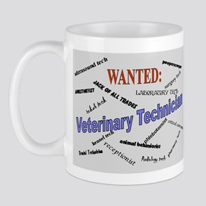 Wanted: Veterinary Technician Mug