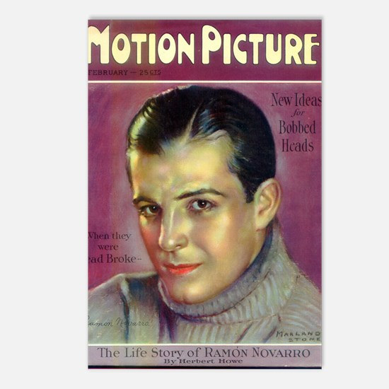 Ramon Novarro Postcards (Package of 8)