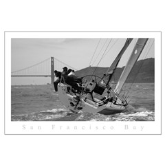 big boat series sailing, golden gate posters