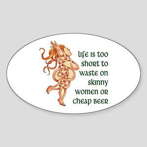 Goddess Motto Sticker