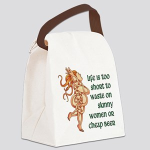 Goddess Motto Canvas Lunch Bag