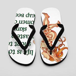 Goddess Motto Flip Flops