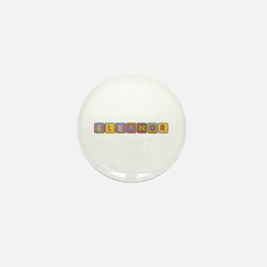 Eleanor Foam Squares Mini Button