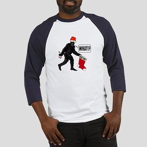 WHAT! Bigfoot - Big Stocking! Baseball Jersey