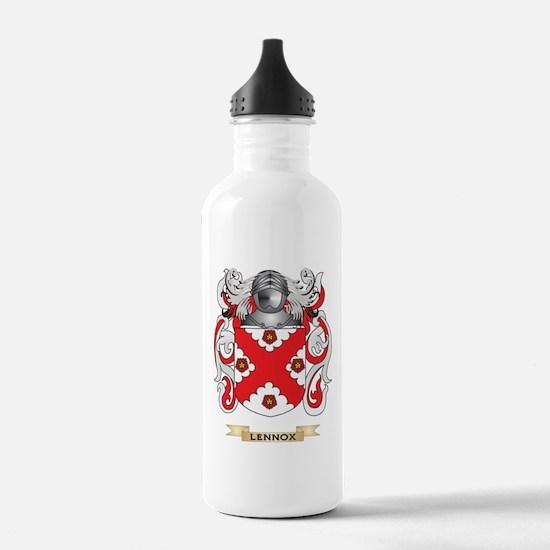 Lennox Coat of Arms - Family Crest Water Bottle