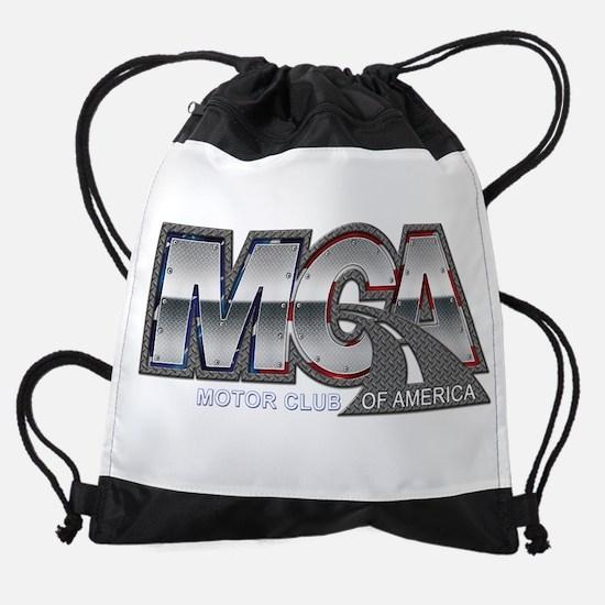 Motor Club Of America Diamond Plate Drawstring Bag