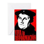 Viva la Reformacion! Greeting Cards (Pk of 10)