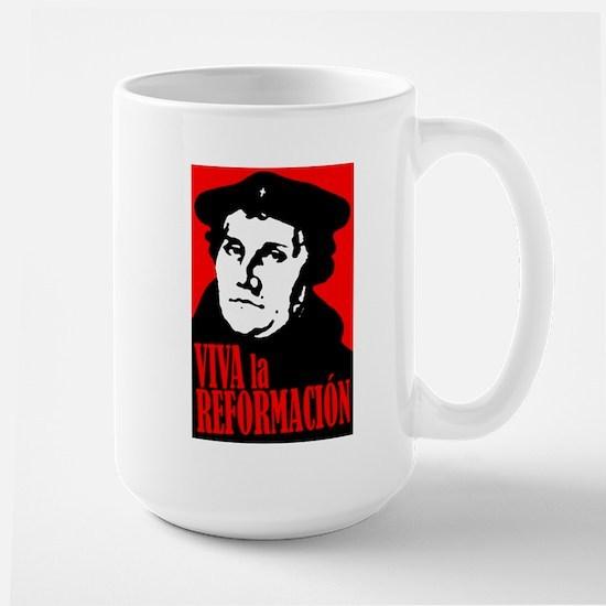 Viva la Reformacion! Large Mug