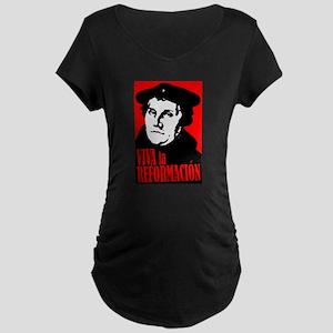Viva la Reformacion! Maternity Dark T-Shirt