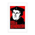 Viva la Reformacion! Mini Poster Print