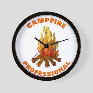 Campfire Professional Wall Clock