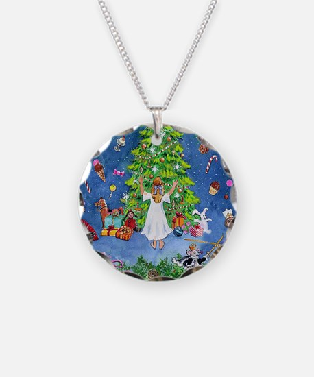 Nutcracker Christmas Ballet Necklace