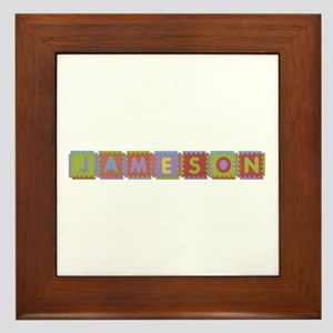 Jameson Foam Squares Framed Tile