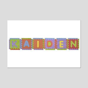 Kaiden Foam Squares Mini Poster Print