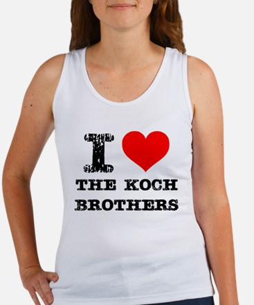 I Love The Koch Brothers Tank Top