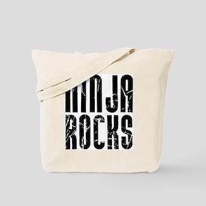 Ninja Rocks Tote Bag