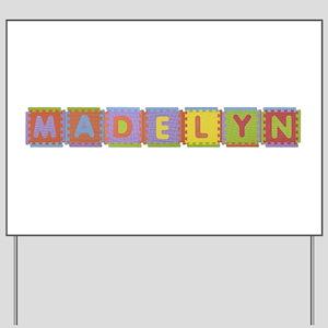 Madelyn Foam Squares Yard Sign