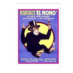 El Mono Postcards (Package of 8)
