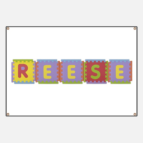Reese Foam Squares Banner