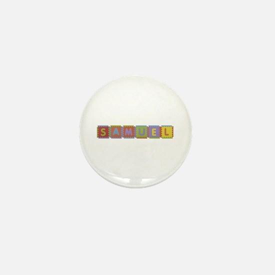 Samuel Foam Squares Mini Button