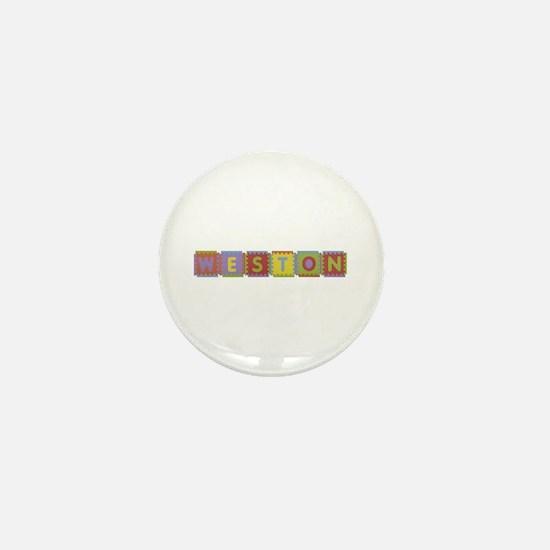 Weston Foam Squares Mini Button