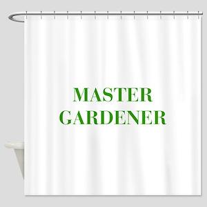 MASTER-GARDENER-BOD-GREEN Shower Curtain