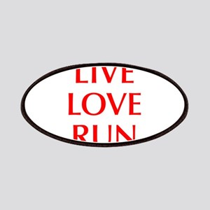 LIVE-LOVE-RUN-OPT-RED Patches
