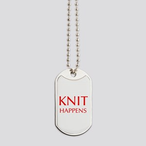 knit-happens-OPT-RED Dog Tags