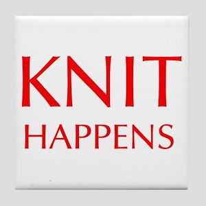 knit-happens-OPT-RED Tile Coaster