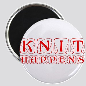 knit-happens-KON-RED Magnet