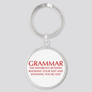 grammar-difference-OPT-RED Keychains