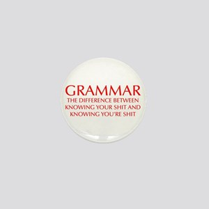 grammar-difference-OPT-RED Mini Button