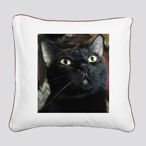 The Beautiful Benny Square Canvas Pillow