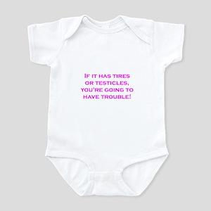 Tires Infant Bodysuit