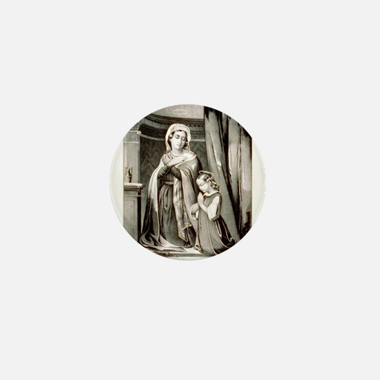Infancy of the virgin - 1849 Mini Button