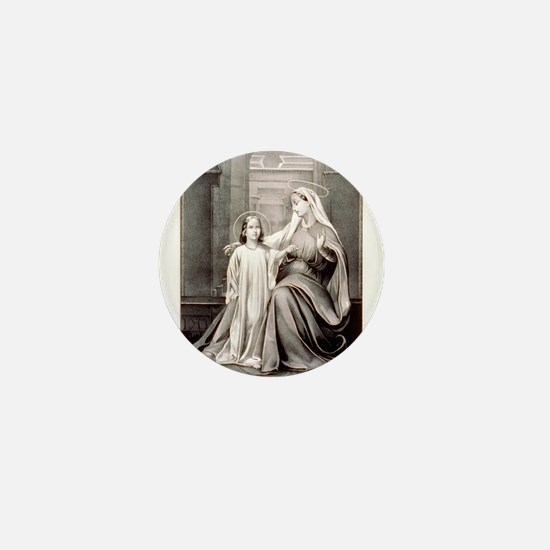 Infancy of Jesus - 1849 Mini Button