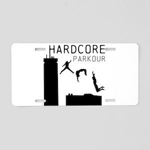 Parkour Aluminum License Plate
