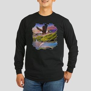 Soaring Eagle Long Sleeve Dark T-Shirt