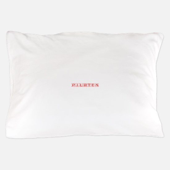 pilates-kon-red Pillow Case