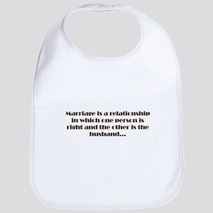 Marriage Bib