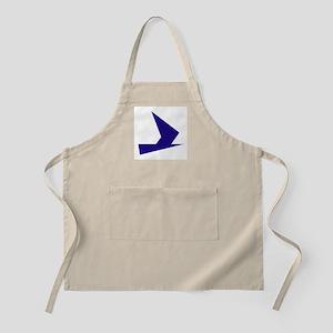 Abstract Blue Bird Apron