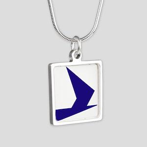 Abstract Blue Bird Necklaces