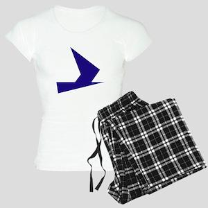 Abstract Blue Bird Pajamas