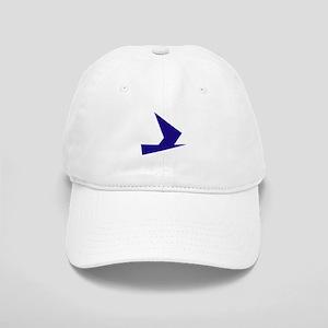 Abstract Blue Bird Baseball Cap